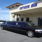 Lincoln Town Car 6 passenger charter shuttle coach bus for sale - Gas 1