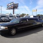 Lincoln Town Car 6 passenger charter shuttle coach bus for sale - Gas 2