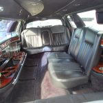 Lincoln Town Car 6 passenger charter shuttle coach bus for sale - Gas 6