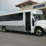 International HC 33 passenger charter shuttle coach bus for sale - Diesel 1