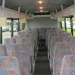 International HC 33 passenger charter shuttle coach bus for sale - Diesel 6