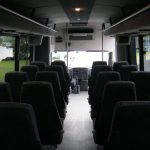 International HC 33 passenger charter shuttle coach bus for sale - Diesel 7