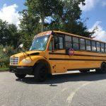 Freightliner  71 passenger charter shuttle coach bus for sale - Diesel 2