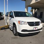 Dodge Caravan  5 passenger charter shuttle coach bus for sale - Gas 2