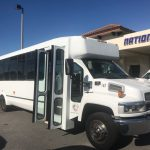 Chevy C5500 30 passenger charter shuttle coach bus for sale - Gas 1