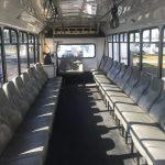 Chevy C5500 30 passenger charter shuttle coach bus for sale - Gas 4