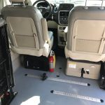 Dodge Caravan  5 passenger charter shuttle coach bus for sale - Gas 5
