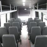 Ford F550 33 passenger charter shuttle coach bus for sale - Diesel 7