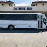 Freightliner M2 37 passenger charter shuttle coach bus for sale - Diesel 2