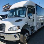 Freightliner M2 37 passenger charter shuttle coach bus for sale - Diesel 8