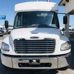 Freightliner M2 37 passenger charter shuttle coach bus for sale - Diesel 9