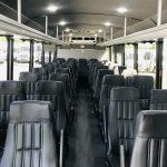 Freightliner M2 37 passenger charter shuttle coach bus for sale - Diesel 10