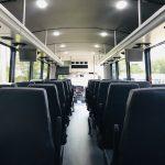 Freightliner M2 37 passenger charter shuttle coach bus for sale - Diesel 11