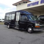 Chevy G3500 12 passenger charter shuttle coach bus for sale - Gas 1
