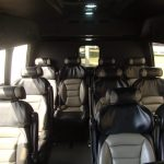 Chevy G3500 12 passenger charter shuttle coach bus for sale - Gas 6