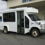 Ford E350 8 passenger charter shuttle coach bus for sale - Gas 1