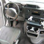 Ford E350 8 passenger charter shuttle coach bus for sale - Gas 7