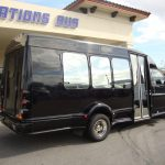 Chevy G3500 12 passenger charter shuttle coach bus for sale - Gas 4
