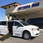 Dodge Caravan  5 passenger charter shuttle coach bus for sale - Gas 1
