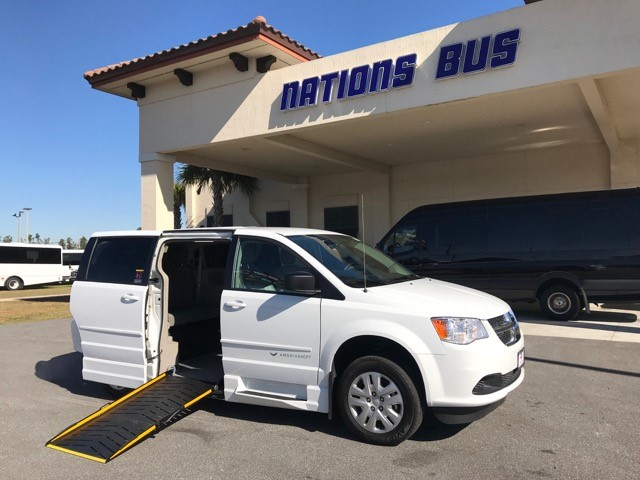 Dodge Caravan  5 passenger charter shuttle coach bus for sale - Gas