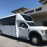 Ford F550 28 passenger charter shuttle coach bus for sale - Gas 1
