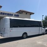 Ford F550 28 passenger charter shuttle coach bus for sale - Gas 3