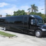 Freightliner M2 48 passenger charter shuttle coach bus for sale - Diesel 1