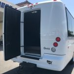 Ford F550 28 passenger charter shuttle coach bus for sale - Gas 5