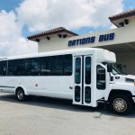 Chevy C5500 15 passenger charter shuttle coach bus for sale - Gas 1