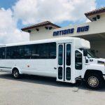 Chevy C5500 15 passenger charter shuttle coach bus for sale - Gas 1