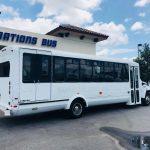 Chevy C5500 15 passenger charter shuttle coach bus for sale - Gas 4