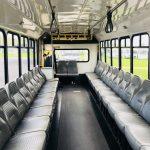 Chevy C5500 15 passenger charter shuttle coach bus for sale - Gas 5