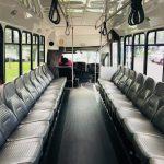 Chevy C5500 15 passenger charter shuttle coach bus for sale - Gas 6