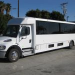 Freightliner M2 37 passenger charter shuttle coach bus for sale - Diesel 3