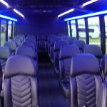 Ford F550 28 passenger charter shuttle coach bus for sale - Gas 6