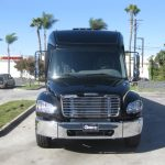 Freightliner M2 38 passenger charter shuttle coach bus for sale - Diesel 2