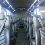 Freightliner M2 38 passenger charter shuttle coach bus for sale - Diesel 6