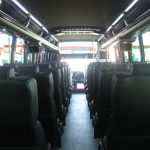 Freightliner M2 38 passenger charter shuttle coach bus for sale - Diesel 7