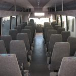 International  45 passenger charter shuttle coach bus for sale - Diesel 6