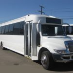 International  45 passenger charter shuttle coach bus for sale - Diesel 1