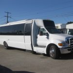 Ford F650 32 passenger charter shuttle coach bus for sale - Diesel 1