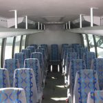 Ford F650 32 passenger charter shuttle coach bus for sale - Diesel 5