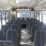 Chevy C5500 30 passenger charter shuttle coach bus for sale - Propane 5