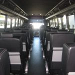 Freightliner M2 48 passenger charter shuttle coach bus for sale - Diesel 6