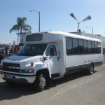 Chevy C5500 30 passenger charter shuttle coach bus for sale - Propane 3