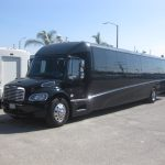 Freightliner M2 48 passenger charter shuttle coach bus for sale - Diesel 3
