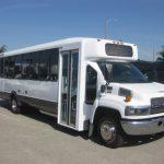 Chevy C5500 30 passenger charter shuttle coach bus for sale - Propane 1
