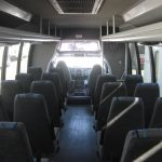 Ford F650 32 passenger charter shuttle coach bus for sale - Diesel 6
