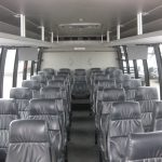 Ford F550 28 passenger charter shuttle coach bus for sale - Diesel 5