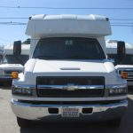 Chevy C5500 3 passenger charter shuttle coach bus for sale - Gas 2